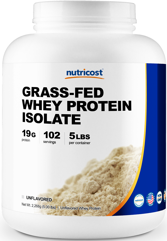 Grass-Fed Whey Protein Isolate-5LB