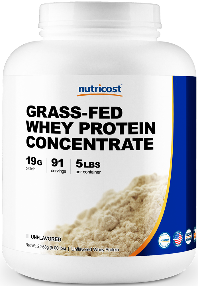 Grass-Fed Whey Protein Concentrate-5 lbs