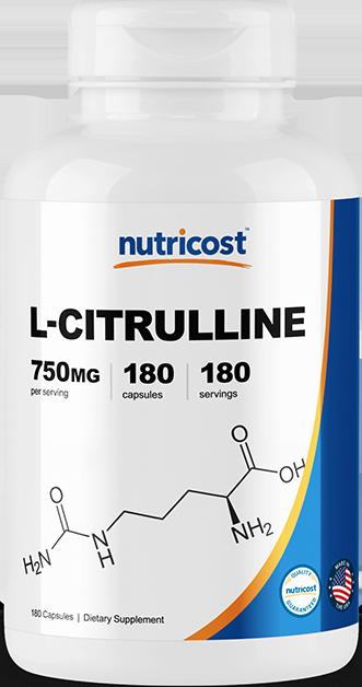 L-Citrulline-180 capsules (750mg)