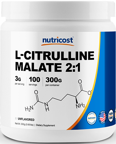 L-Citrulline Malate Powder (2:1)-300g