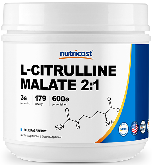 L-Citrulline Malate Powder (2:1)-600g