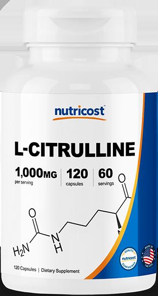 L-Citrulline-120 Capsules (500mg)