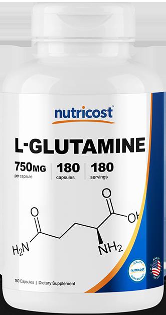 L-Glutamine-180 capsules