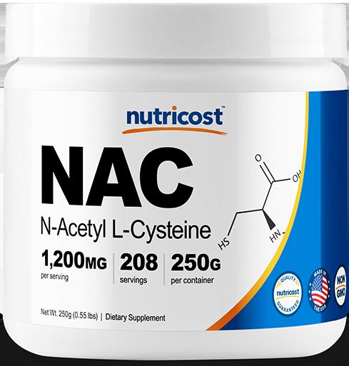 N-Acetyl L-Cysteine (NAC) Powder-250 G