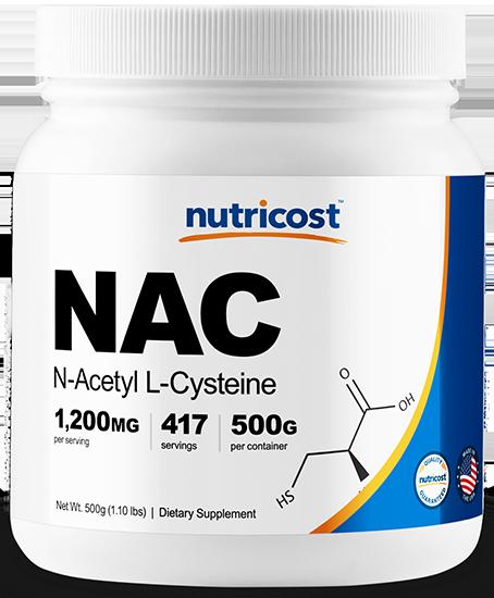 N-Acetyl L-Cysteine (NAC) Powder-500 G