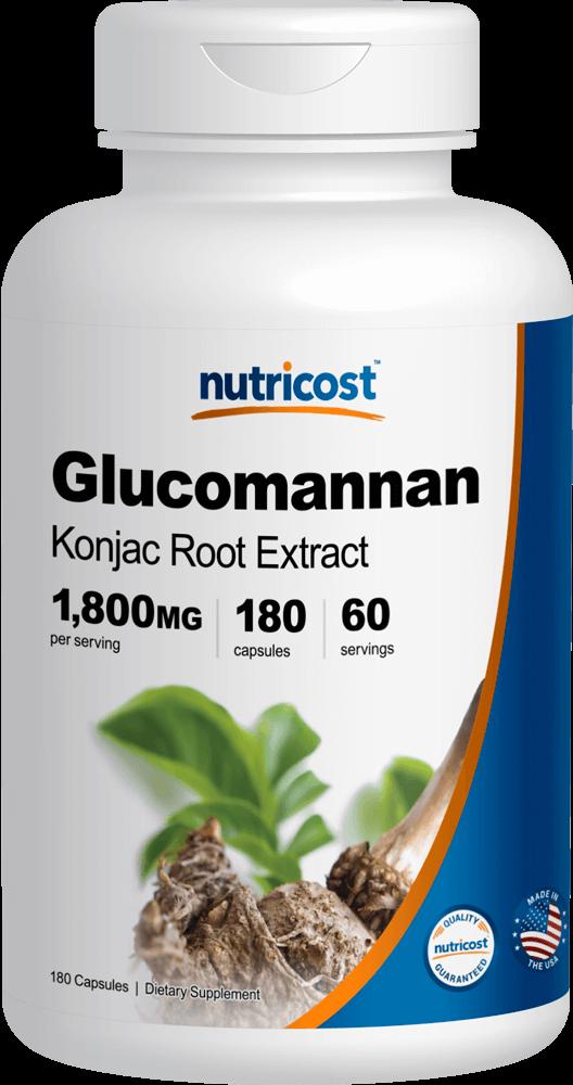 Glucomannan-180 capsules