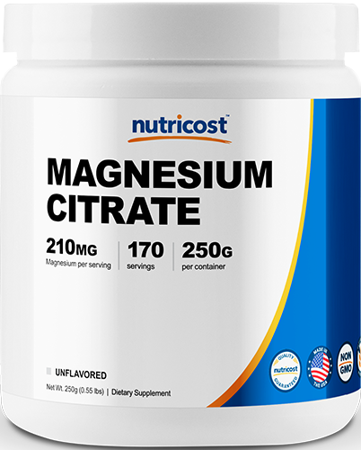 Magnesium Citrate Powder-Unflavored 250g