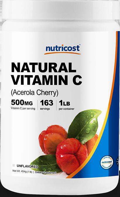 Acerola Cherry (Natural Vitamin C)-1LB