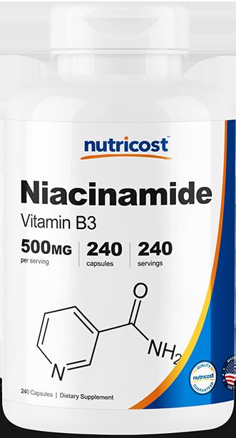 Niacinamide (Vitamin B3)-240 capsules