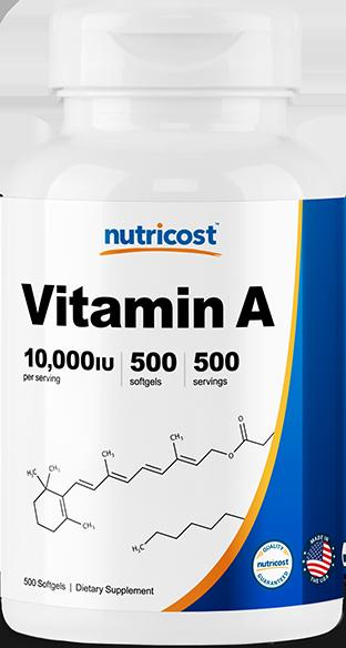 Vitamin A-500 softgels