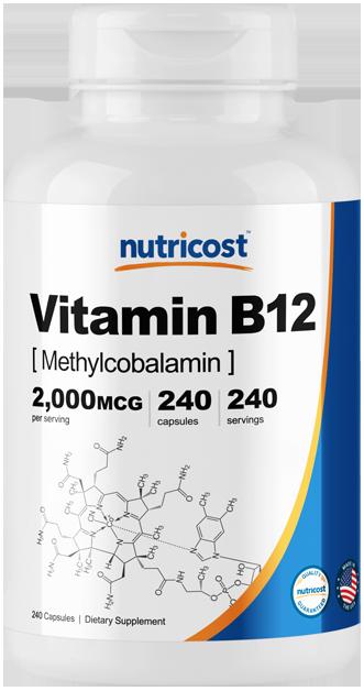 Vitamin B12 (Methylcobalamin)-240 capsules