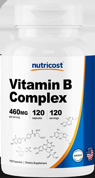 Vitamin B Complex-120 Capsules