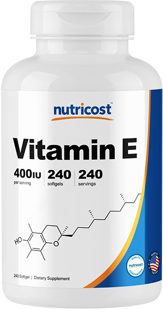 Vitamin E-240 softgels