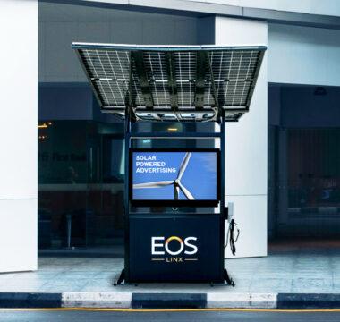 Kiosk in environment