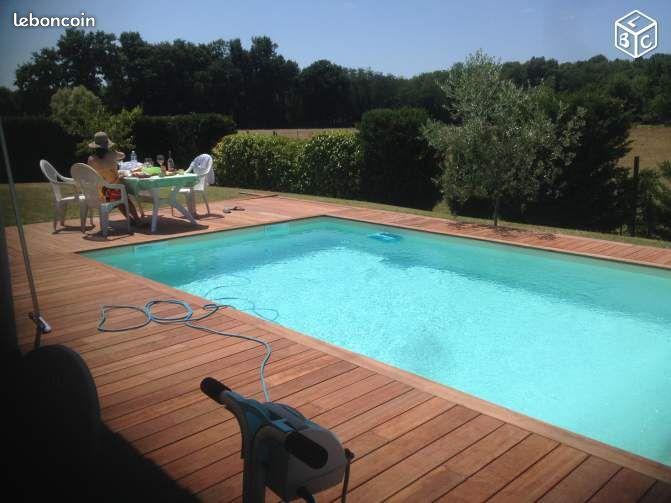 Maison piscine grand terrain 1100 m taillan medoc