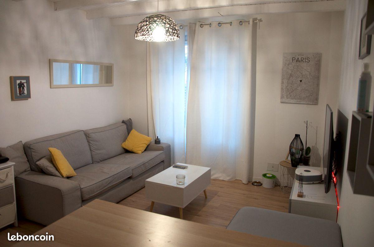 Appartement 54m2 F3 centre lamorlaye