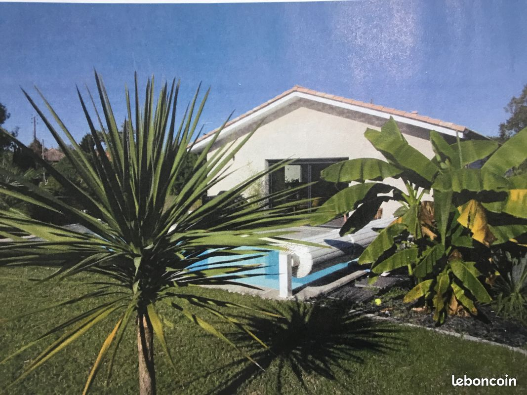 Maison contemporaine + piscine