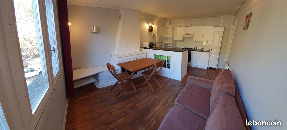 Bel appartement T3 rénové et meublé