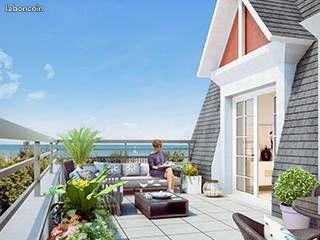 Appartement-2 pièces-Benerville sur mer PLAGE