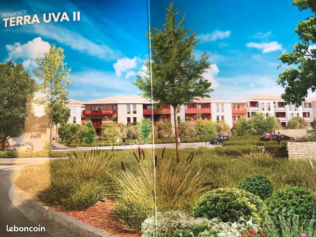 Le plan du castellet - t2 40,6 m2 neuf nouvelle résidence terra uva