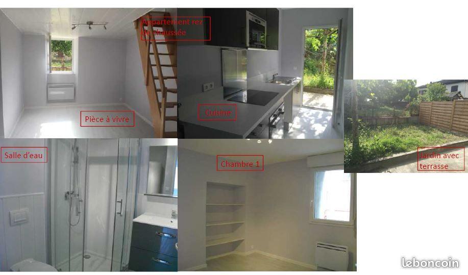 Maison de deux appartements entièrement rénovés