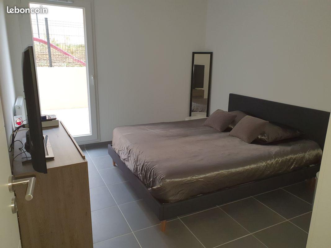 Location appartement T3 rez de jardin