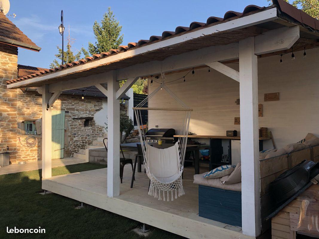 Maison en Pierre Chozeau 97m2 - Piscine et Garage