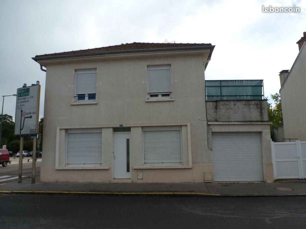 Appart f3 centre ville +garage et terrasse