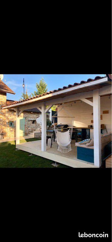 Maison en pierre Chozeau 98m2 - piscine et garage