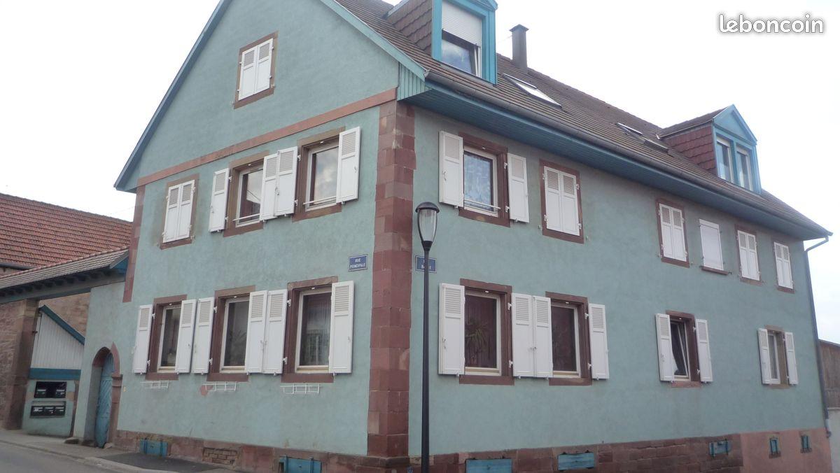 3 pièces à Bilwisheim près Brumath
