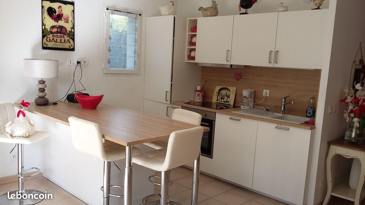 Appartement T3 de 57m² avec 152m² de jardin