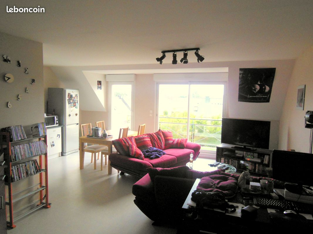 Appartement T3, 2 chambres et 1 garage