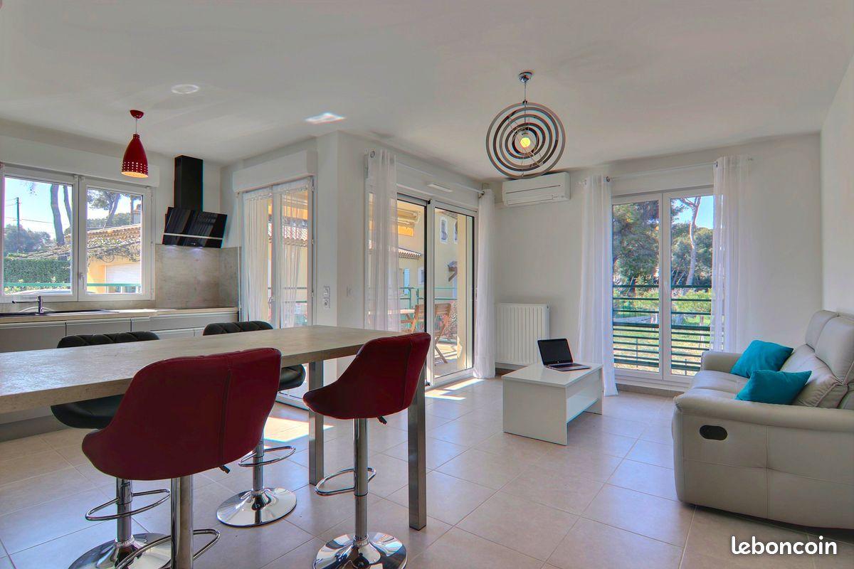 Beau 3P d'angle 57 m² Résidence 2017 Terrasse Calme Double garage