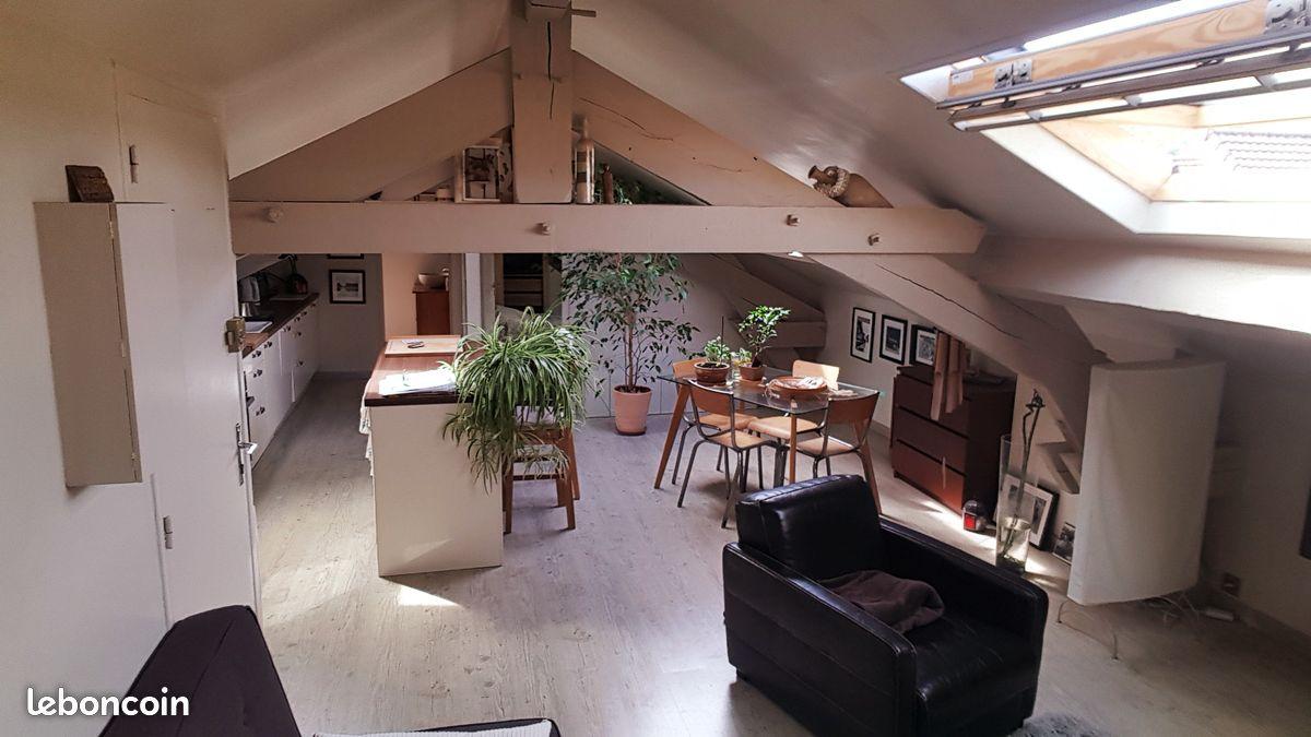 Appartement tpe F2, 65m² au sol