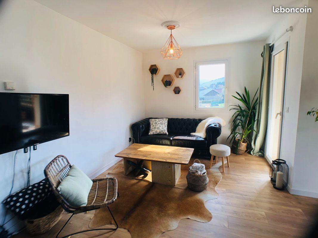 Appartement récent 73m² à Brié et Angonnes