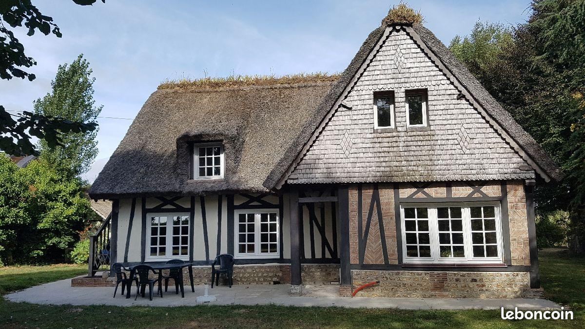 Maison normande 147m2 proche Bernay Brionne chaumiere