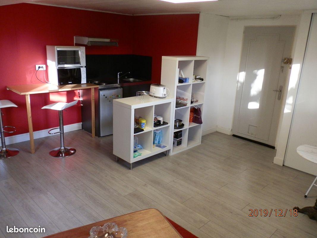 Appartement 2 pièces, 35m2, en rez de jardin