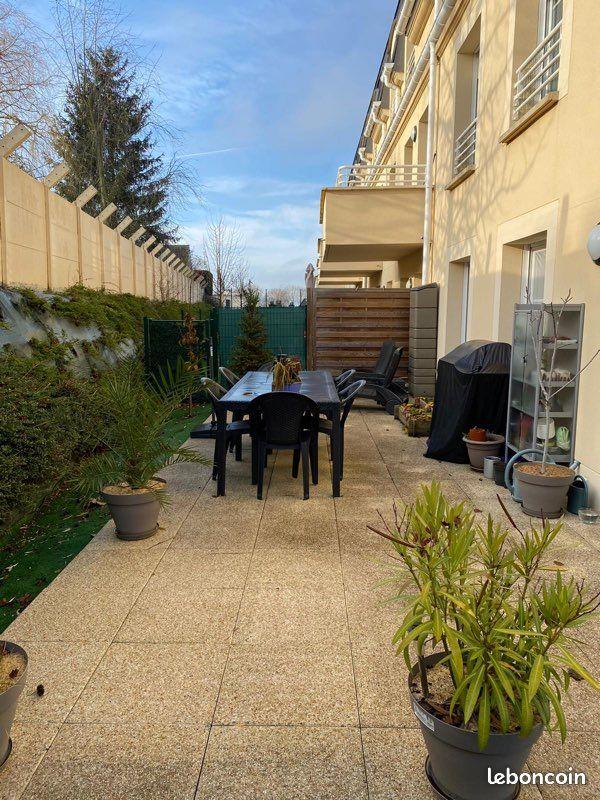 Appartement avec jardin exposé sud