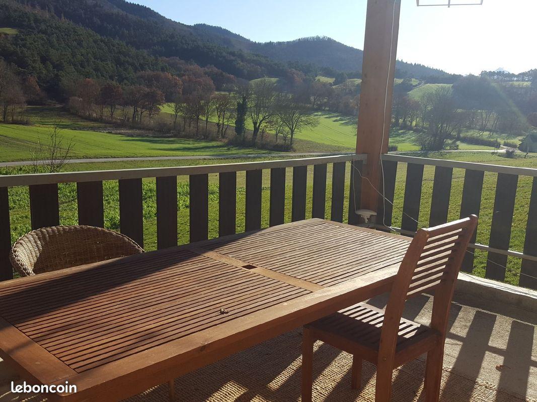 Trièves 4 pièces avec terrasse et jardin