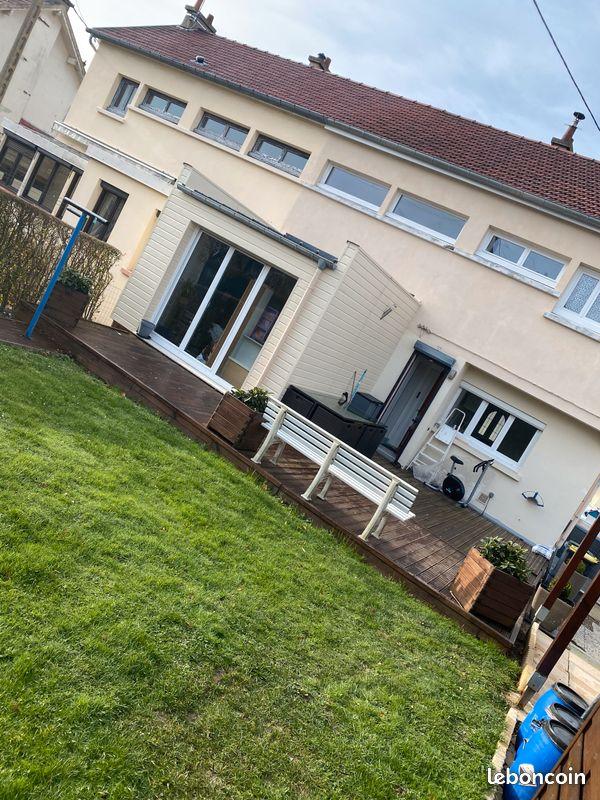 A louer maison F3 avec jardin