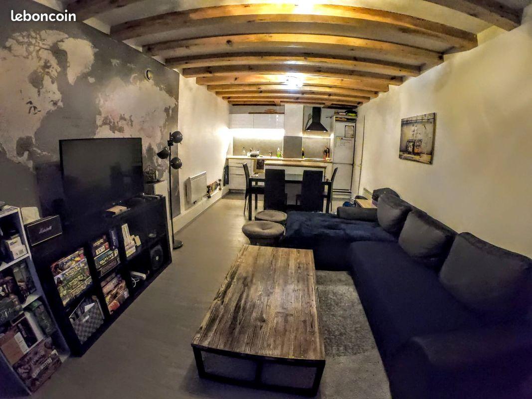 Appartement 2 pièces 43m²