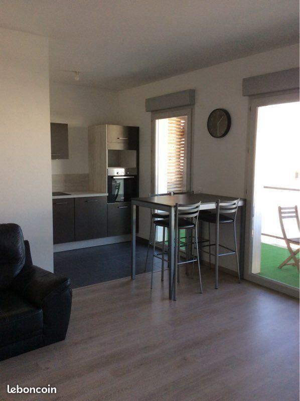 Appartement 2 pièces de 47 m2 résidence sécurisée Bezannes
