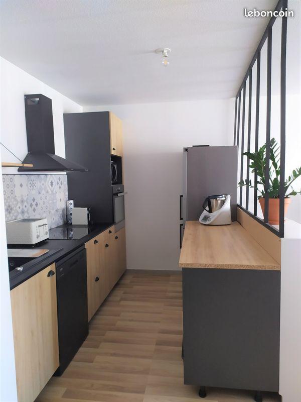 Bel appartement t3 au dernier etage