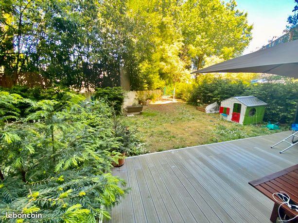 Vente appartement avec jardin et terrasse