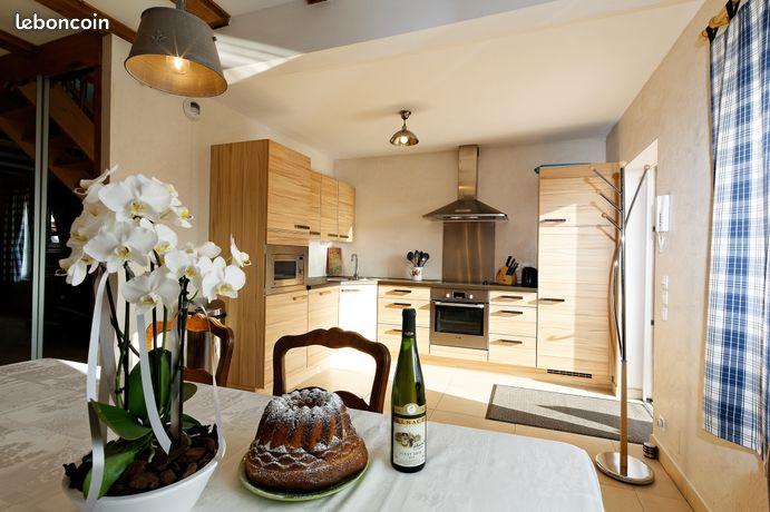 Location de meuble 4 pièces duplex dans bel environnement calme et fleuri belle terrasse de 25 m2