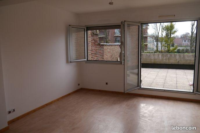 Appartement T2 45 m2 + terrasse - Lambersart