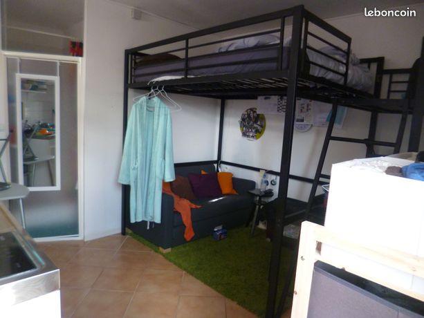 Studio meublé étudiant à villenave proche talence bordeaux bus direct tramC