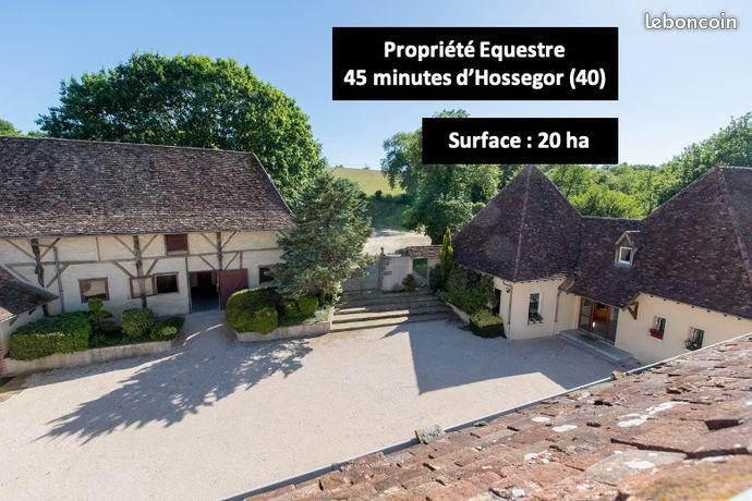 Propriété Équestre d'exception à 40 min d'HOSSEGOR (40)