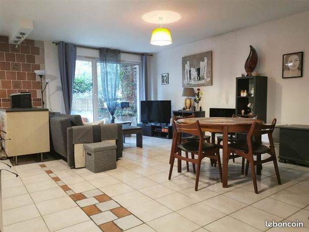 Découvrez ce beau T3 de 68m2 avec son jardin-terrasse privé de 52m2 sur Lyon - Villeurbanne