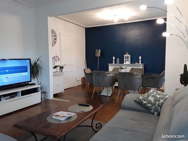 Appartement 80 m2 avec terrain